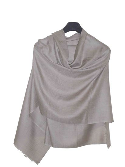 Picture of Merino Wool Hogaz Scarf Natural Colour