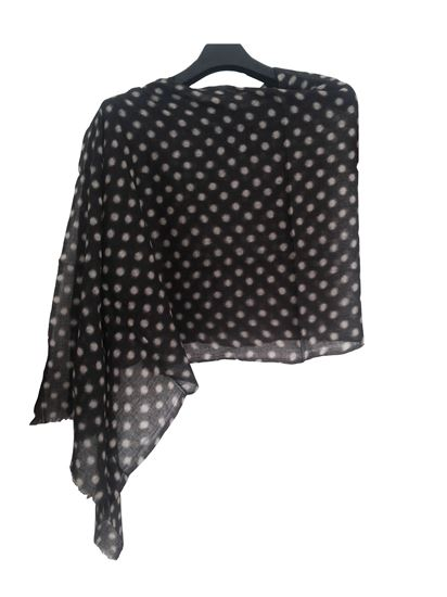Picture of Wool Scarf Polka Dot