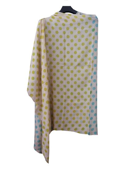 Picture of Wool Scarf Multi Colour Polka Dot
