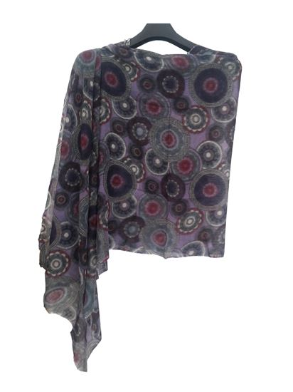 Picture of Hogaz Wool Scarf Multi Colour