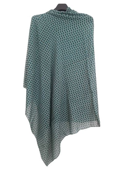 Picture of Hogaz Wool Scarf Green Colour