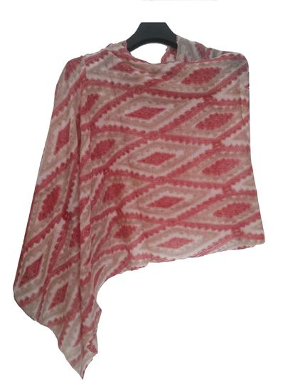 Picture of Wool Scarf Multi Colour