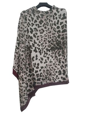 Picture of Wool Scarf Animal Print Multi Colour